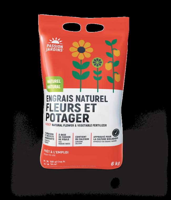 Photo du produit Engrais naturel Fleurs et potager