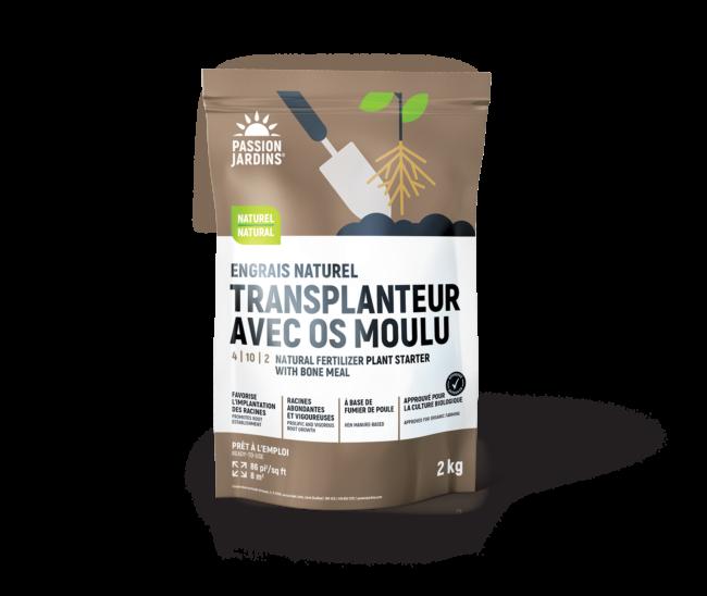 Photo du produit Engrais naturel Transplanteur avec os moulu