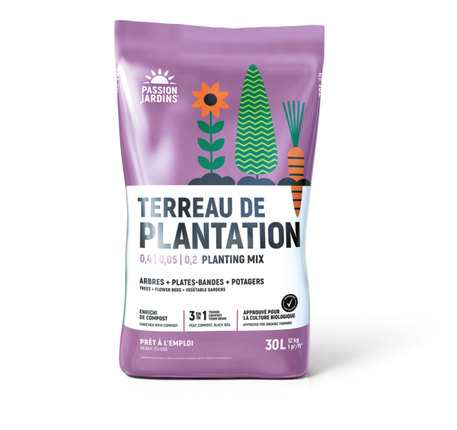 Photo du produit Terreau de Plantation